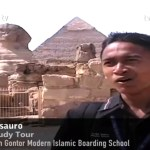 Egypt Study Tour – Gontor – Pyramid and Sphinx – HD