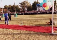 Kyai Hasan Cetak Gol dalam Pembukaan Porseni Gontor