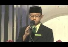 Kevin Damara – Winner – Arabic Public Speaking Contest – Gontor