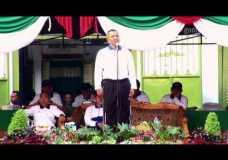 Pesan dan Nasehat Upacara Pembukaan Porseni di Darussalam Gontor