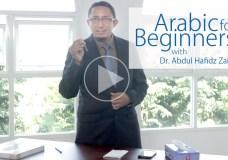 Arabic for beginners - belajar bahasa arab untuk pemula
