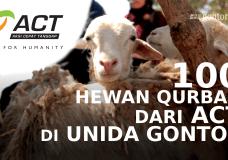 100 HEWAN QURBAN ACT DI UNIDA GONTOR