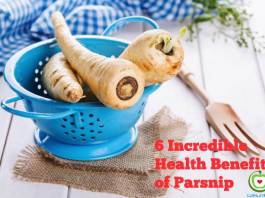 6 incredible health benefits of parsnip