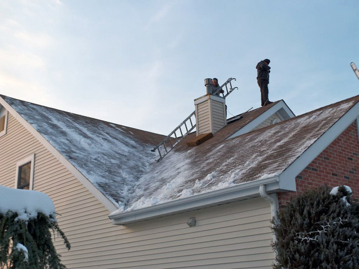 How winter weather could potentially affect your roof.
