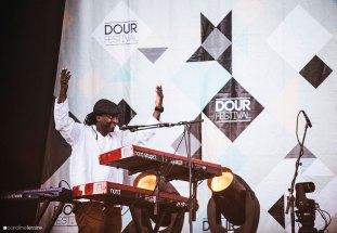Dour 2015 - Tony Allen ft Damon Albarn - (c) Caroline Lessire