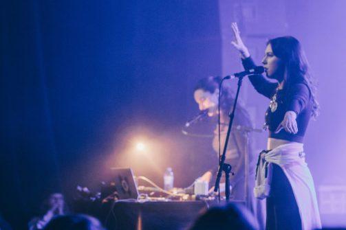 Maja Ratkje & Katarina Barruk - Foto: Joeri Thiry - STUK
