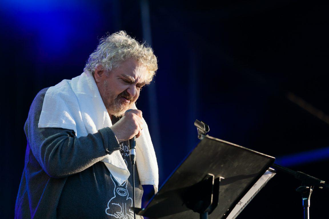 Daniel Johnston tijdens het Primavera Sound Festival in Porto, 2013
