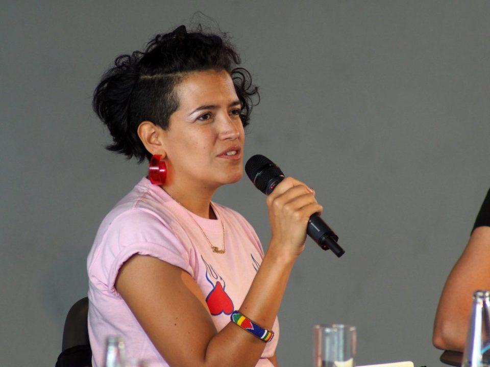 María del Rosario Cardona - PANEL III Day 3 @ Heroines of Sound Festival 2019 03 © Udo Siegfriedt 2019