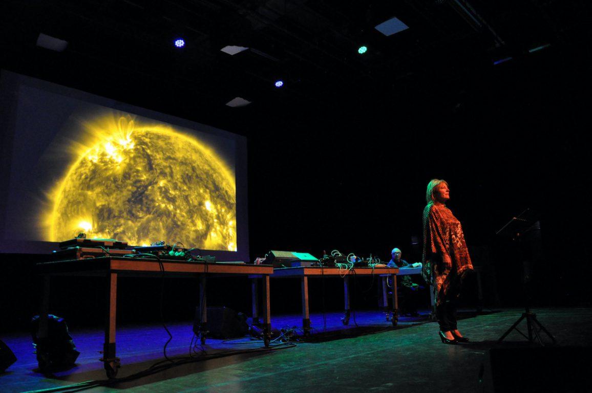 Van Buggenhout & Vanhecke tijdens de Andre Stordeur Tribute in het Antenna Festival in Evergem