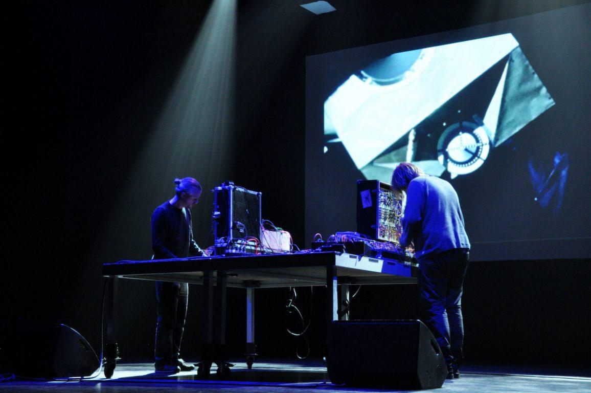 Engerling Ensemble tijdens het Antenna Festival in Evergem