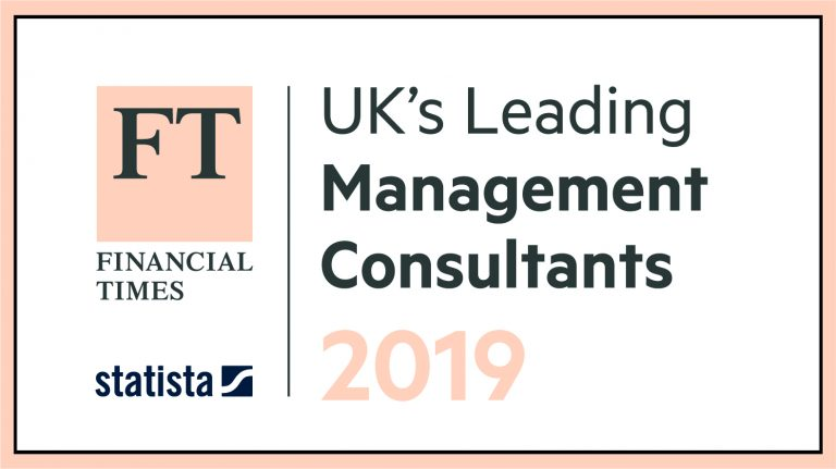GGI Listed by Financial Times as Leading Management Consultants UK 2019