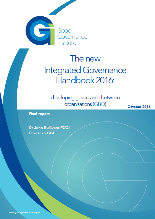 The new Integrated Governance Handbook 2016