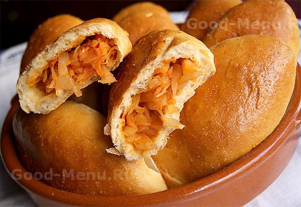 Жареные Пирожки С Картошкой Рецепт На Сухих Дрожжах