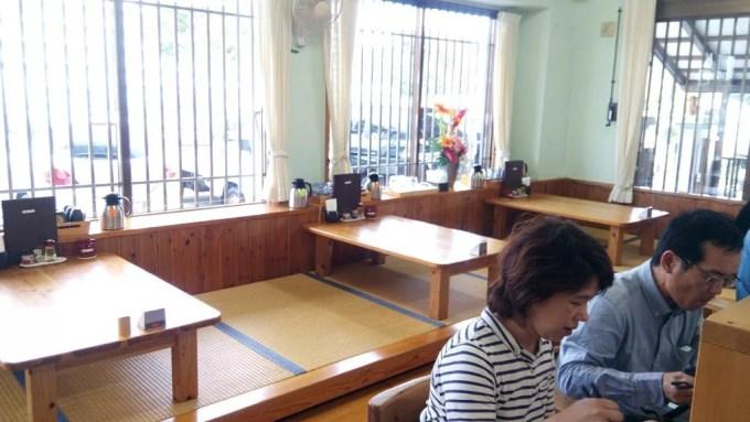 Inside shop Nanbu soba