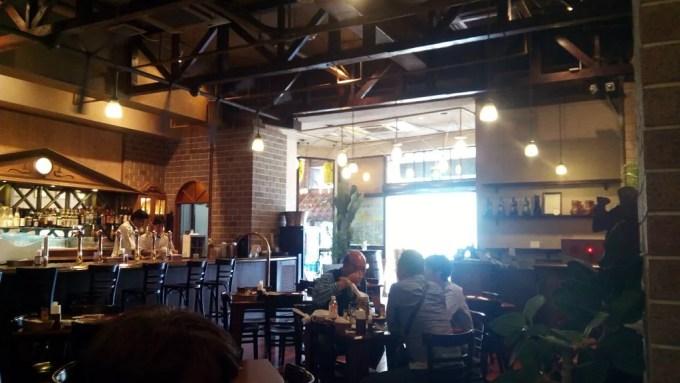 The interior of Helios Pub 1