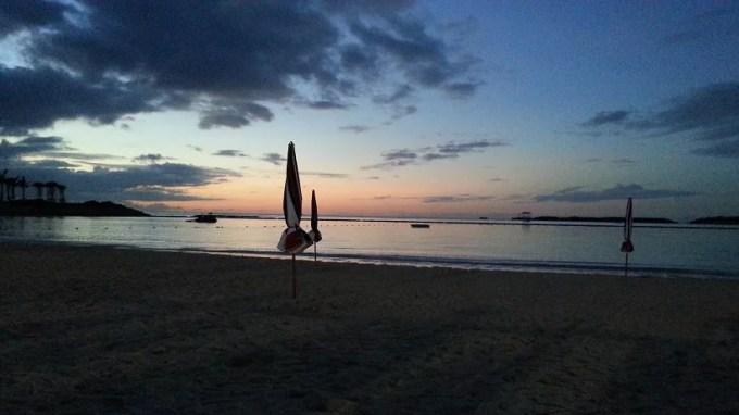 エメラルドビーチの夕日1