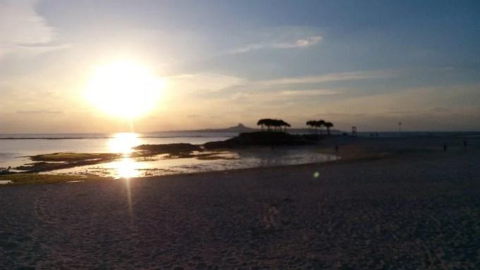 Beautiful sunset at Emerald Beach