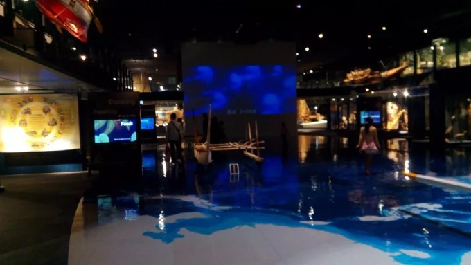 Exhibits of the Oceanic Cultural Museum 1