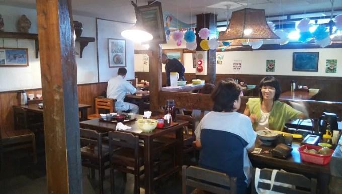 Inside shop of Yonabaruya 1