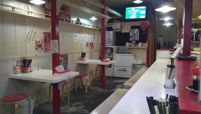 赤まるの店内写真