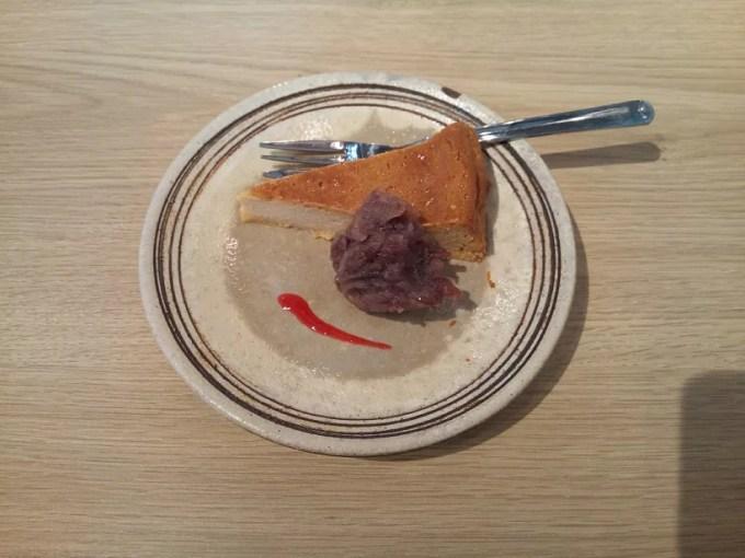 味噌チーズケーキ