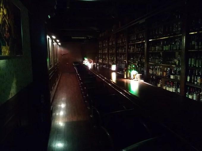 バーボンクラブの店内写真