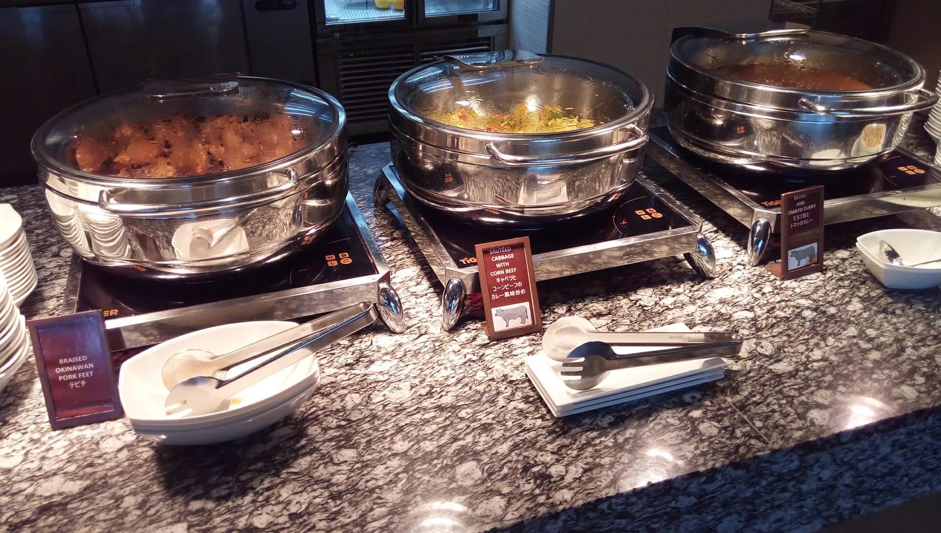 SURIYUNでの食べ放題の料理5