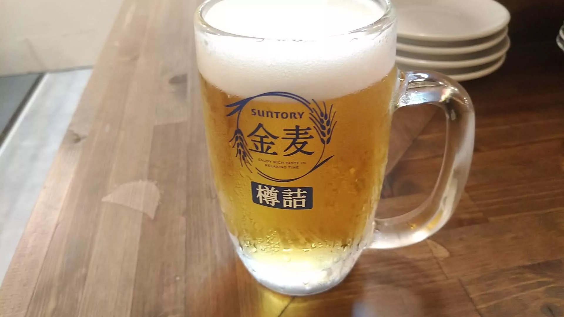 cold draft beer