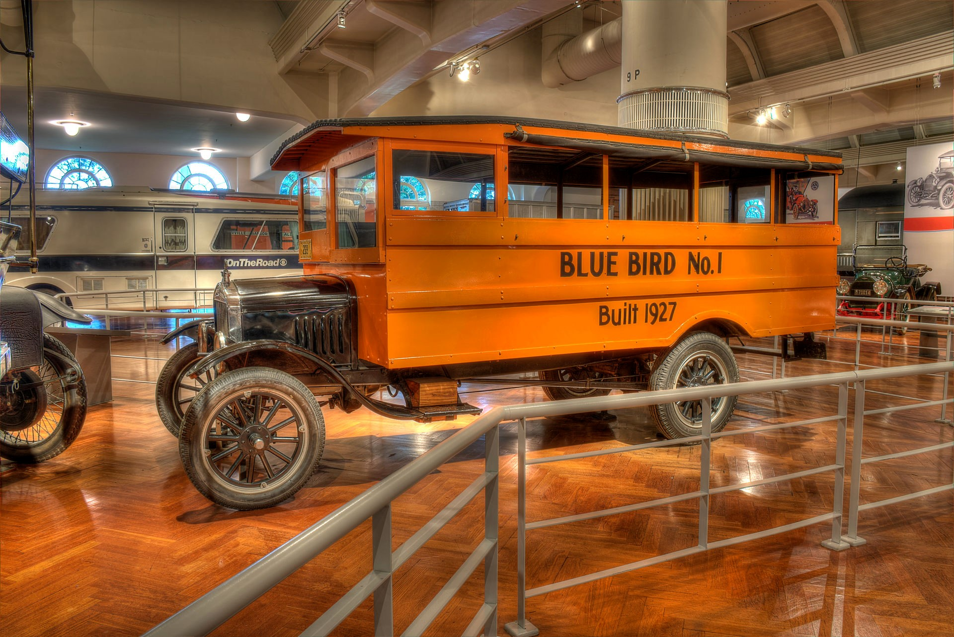 A Century Of School Buses