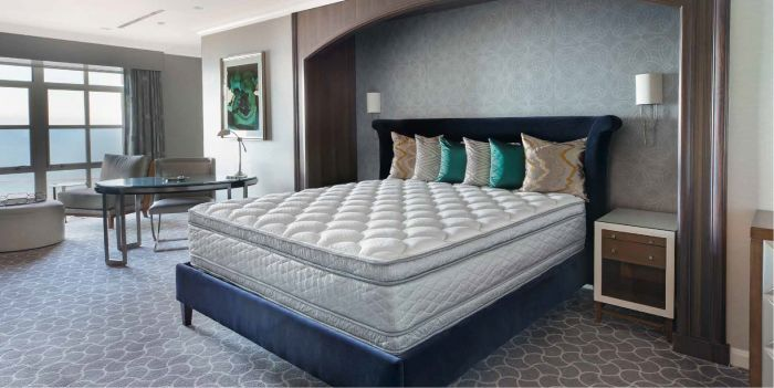 serta perfect sleeper hotel sapphire suite ii euro top double sided