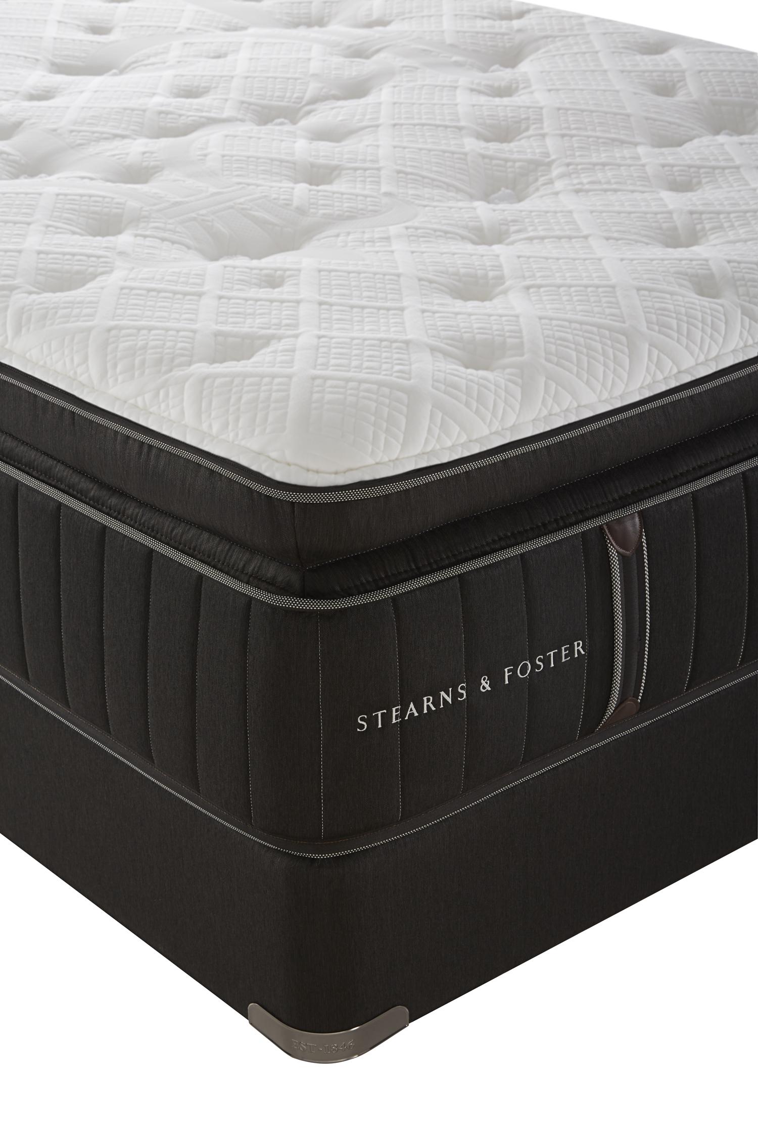 stearns foster lux estate owenton luxury plush euro top