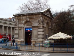 The Euston Tap outside Euston Station