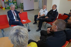 A focus group with staff. Credit: HMPPS
