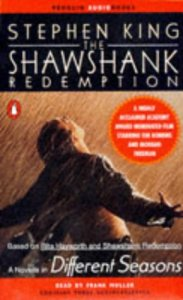 Shawshank Redemption, Audiobook, book cover, Stephen King