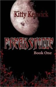 Freaksville, Kitty Keswick, Book Cover