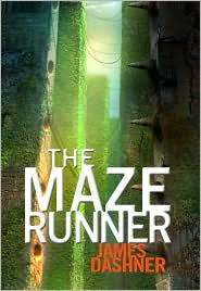 The Maze Runner by James Dashner book Cover