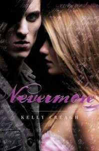 Nevermore, Kelly Creagh, book cover