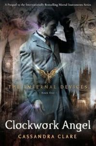 Clockwork Angel Cassandra Clare Book Cover