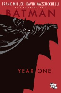 Batman: Year One Frank Miller Book Cover