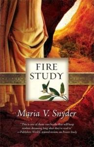 Fire Study Maria V. Snyder Book Cover
