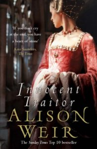 Innocent Traitor, Book Cover, Alison Weir