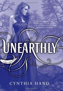 Unearthly, Cynthia Hand, Book Cover