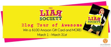 Liar Society Banner Button