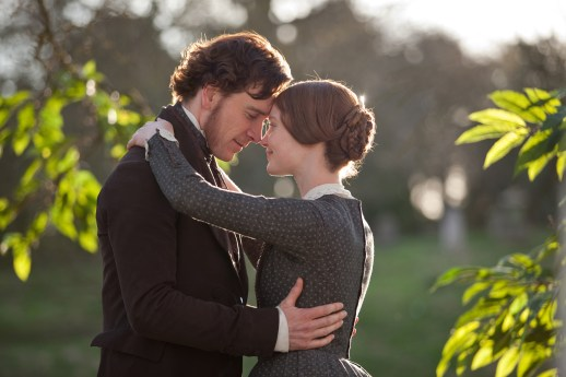 Jane Eyre and Mr. Rochester Embrace, Movie Still, pic,