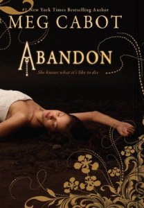 Abandon, Meg Cabot, book cover