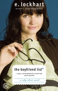 The Boyfriend List, E Lockhart, Book Cover