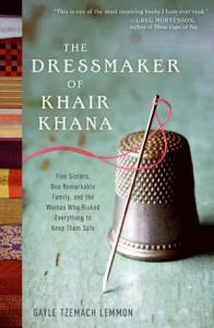 the dressmaker of khair khana, Gayle Lemmon, Book Cover, Thimble, Needle