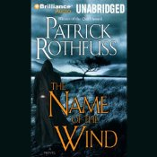 The Name of the Wind, Audiobook Cover, Patrick Rothfuss
