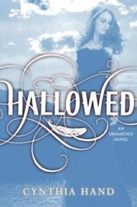 Hallowed by Cynthia Hand Book Cover