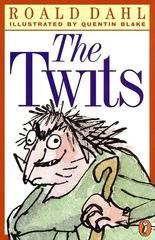 The Twits, Roald Dahl, Book Cover